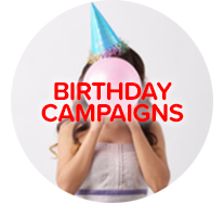 Birthday fundraising campaigns