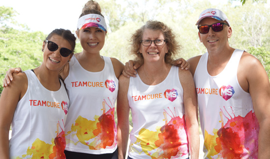 Fundraise as part of Team Cure MS